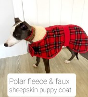 Polar Fleece Whippet Puppy Coat