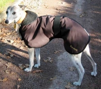 Waterproof & Faux Sheepskin lined Whippet Coat